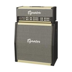 Egnater Tourmaster 4100 Guitar Amp Head and Tourmaster 412A 280W 4x12 Guitar Extension Cabinet|worldselect