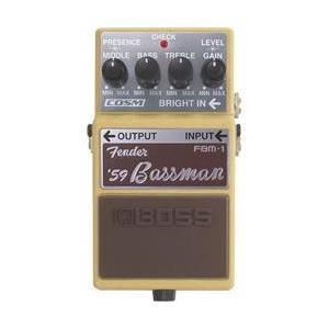 【商品名】Boss FBM-1 Fender Bassman Pedal、【カテゴリー】ギターエフェ...