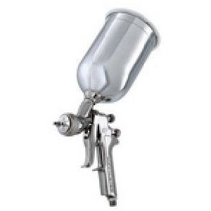 DeVilbissデビルビス GTI620G Gravity Feed HVLP Paint Gun with Aluminum Cup and 1.3-, 1.4-, and 1.5-Milli|worldselect