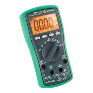 Greenleeグリーンリー DM-210A Digital Multimeter With Auto and Manual Ranging Operation and Non-Contact Voltage