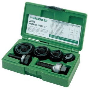 Greenleeグリーンリー 7235BB Slug-Buster Manual Knockout Kit for 1/2 to 1-1/4-Inch Conduit