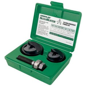 Greenleeグリーンリー 7237BB Slug-Buster Manual Knockout Kit for 1-1/2 and 2-Inch Conduit