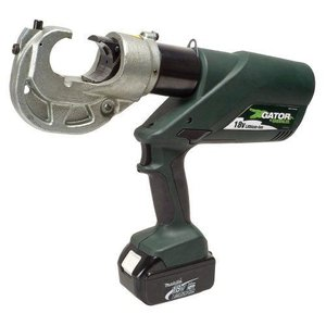 Greenleeグリーンリー EK1230L11 Gator Battery-Powered 12 Ton U Style Crimping Tool with 120-Volt Charger