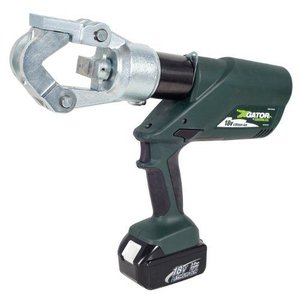 Greenleeグリーンリー EK12IDL11 Gator Battery-Powered 12 Ton Dieless Crimping Tool with 120-Volt Charger