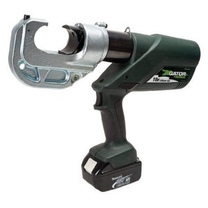 Greenleeグリーンリー EK1240L11 Gator Battery-Powered 12 Ton U Style Crimping Tool with 120-Volt Charger