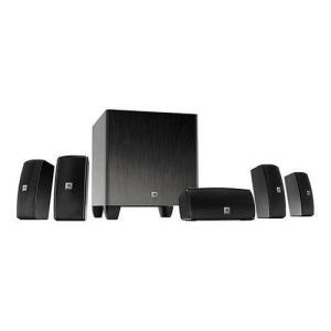 JBL 5.1 Channel SCS145.5 サラウンド シネマ スピーカー システム|worldselect