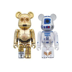 BE@RBRICK スターウォーズ C-3PO & R2-D2|worldselect