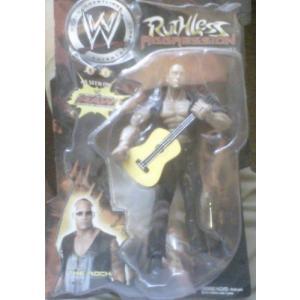【商品名】The Rock with Guitar Ruthless Aggression シリーズ...