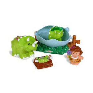 Fisher-Price(フィッシャープライス): Lil' Dino - Triceratops|worldselect