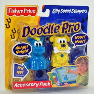Fisher-Price(フィッシャープライス) Doodle Pro Silly Sound Stampers - 馬 & Dog|worldselect