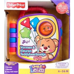 Dutch Langu対象年齢 Fisher-Price(フィッシャープライス) 笑顔と学習 Teddy's Shapes and Colors Book|worldselect
