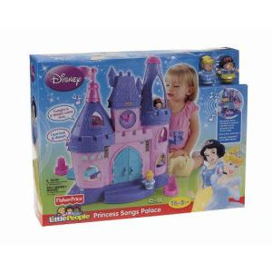 Fisher-Price(フィッシャープライス) Little People ディズニー プリンセス Song Palace (対象年齢: 18 ヵ|worldselect