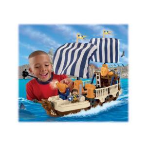 Fisher-Price(フィッシャープライス) Trio キング's War船