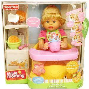 Fisher-Price(フィッシャープライス) Little Mommy Feeding Fun 人形