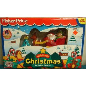 Fisher-Price(フィッシャープライス) Little People クリスマス Activity Center