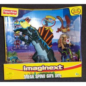 Fisher-Price(フィッシャープライス) Imaginext Mega Spino Gift セット