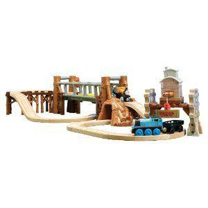 Thomas(機関車トーマス) And Friends Wooden Railway - Misty IslAnd アドベンチャー セット|worldselect