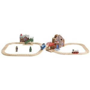 Thomas(機関車トーマス) and Friends Wooden Railway - The Great ディスコvery セット|worldselect