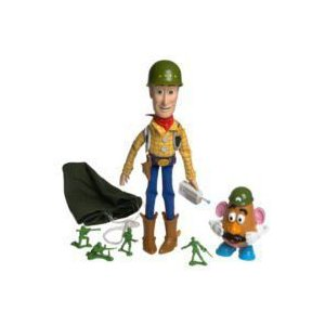 Toy Story(トイストーリー) and Beyond Squad Leader ウッディ トーキング w Pull String|worldselect