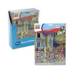 Toy Story(トイストーリー) ステッカー World with 4 Scenes|worldselect