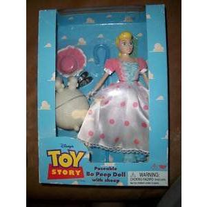 "Disney(ディズニー) Original 1995 Toy Story(トイストーリー) 11"" Poseable Bo Peep w/ Sheep|worldselect"