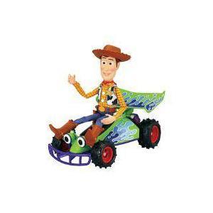 Disney(ディズニー) Pixar Toy Story(トイストーリー) トーキング ウッディ & Free Wheel RC Buggy|worldselect