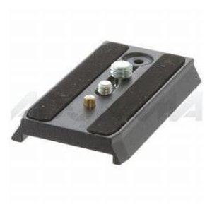 Manfrotto 501PL Quick Release Mounting plate for the 501 and 503 Pro Video Heads(#3433PL)|worldselect