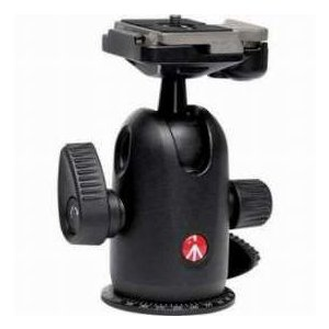 Manfrotto 498RC2 Midi Ball Head 498 with RC2 Rapid Connect Plate, Maximum Load: 17.6 lbs/ 8 kg|worldselect