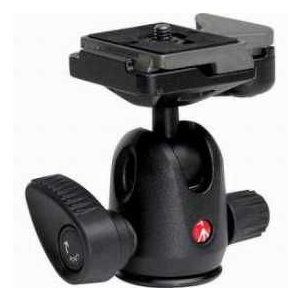Manfrotto 494RC2 Mini Ball Head 494 with RC2 Rapid Connect Plate, Maximum Load: 8.8 lbs/ 4 kg|worldselect