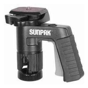 Sunpak Pistol Grip Ball Head with Quick Release, Supports 6 lbs.|worldselect