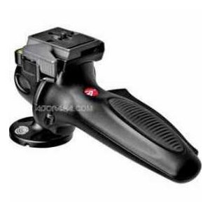 Manfrotto 327RC2 Lightweight Magnesium Body Joystick Head with Quick Release, Supports 12.1 lb.,|worldselect