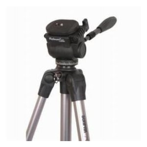 Sunpak Ultra 7500TM Tripod/Monopod with 3-way Fluid-effect Pan Head - Load Capacity: 15.4 lb(Max worldselect