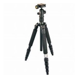 Giottos VITRUVIAN VGR9255-S2C 5-Section Aluminum Tripod with Arca Style Quick Release Ball Head, worldselect