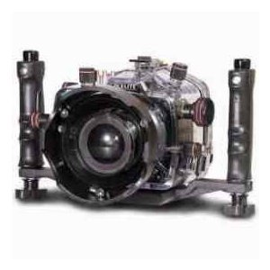 Ikelite Underwater Camera Housing with E-TTL for Canon Digital EOS 5D Mark II Camera, Clear Molde|worldselect
