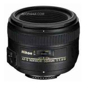 Nikon 50mm f/1.4G AF-S Nikkor Lens - Nikon U.S.A. Warranty worldselect
