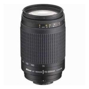 Nikon 70-300mm f/4-5.6G AF Telephoto Zoom Nikkor Lens with HB-26 Hood(Black) - Grey Market worldselect