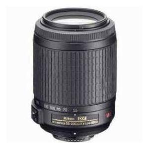 Nikon 55-200mm f/4-5.6G ED-IF AF-S DX VR Vibration Reduction Lens F/DSLR Cameras - Refurbished by worldselect