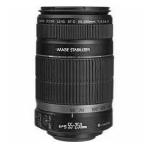 Canon EF-S 55-250mm f/4-5.6 IS Image Stabilizer - Refurbished