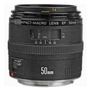 Canon EF 50mm f/2.5 Compact Macro Standard AutoFocus Lens - USA|worldselect|02