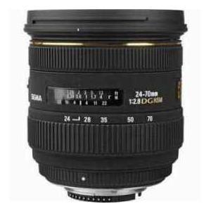 Sigma 24-70mm f/2.8 EX Aspherical IF EX DG HSM Aut...