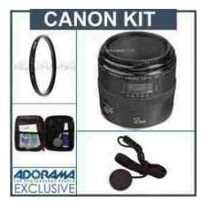 【商品名】Canon EF 50mm f/2.5 Macro AF Lens Kit, USA wi...
