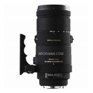 【商品名】Sigma 120-400mm f/4.5-5.6 DG APO OS(Optical S...