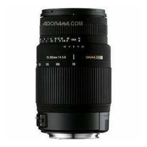 Sigma 70-300mm f/4-5.6 DG OS(Optical Stabilizer) Telephoto Zoom Lens for Sigma Cameras - USA Warr worldselect