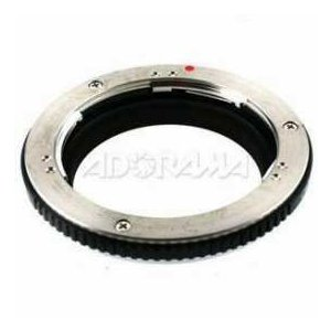 Olympus MF-1 Lens Adapter, Permits the Adaption of Certain OM Mount Lenses to be used with the Fo worldselect
