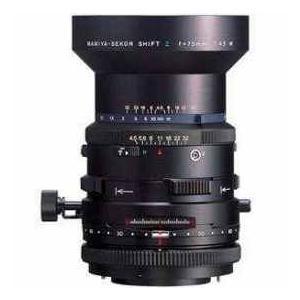 【商品名】Mamiya 75mm f/4.5 Wide Angle Shift Lens for R...