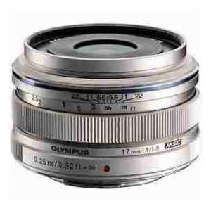 【商品名】Olympus M. Zuiko Digital 17mm f/1.8 Lens - Si...