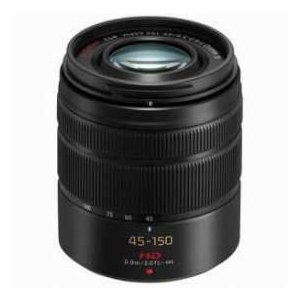 Panasonic LUMIX G Vario 45-150mm f/4.0-5.6 ASPH Lens for G Series Cameras, Black