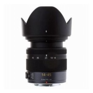 Panasonic Lumix G Vario 14-45mm f/3.5-5.6 ASPH / MEGA O.I.S. for Micro Four Thirds Lens Mount Sys