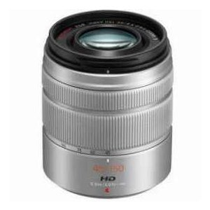 Panasonic LUMIX G Vario 45-150mm f/4.0-5.6 ASPH Lens for G Series Cameras, Silver