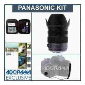 Panasonic Lumix Vario 14-140mm f/4.0-5.8 Aspherical Micro Four Thirds Lens Kit with Tiffen 62mm P